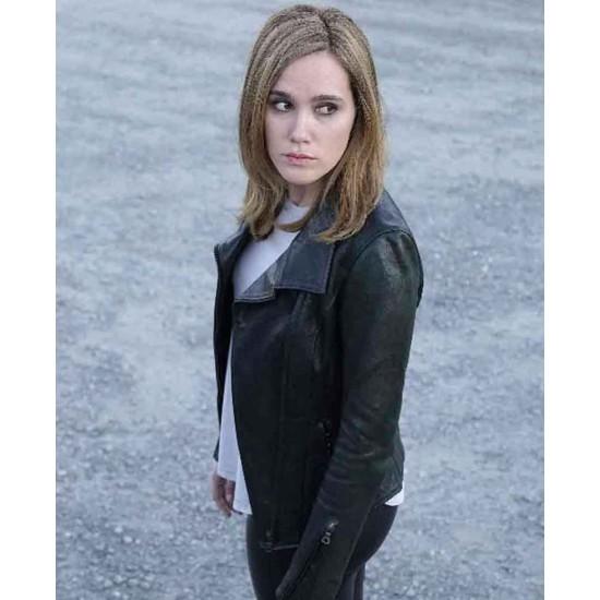 Beyond Eden Brolin Black Leather Jacket