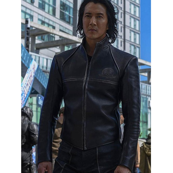 Altered Carbon Will Yun Lee Biker Leather Jacket