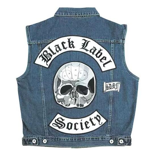 BLS Motorcycle Denim Vest