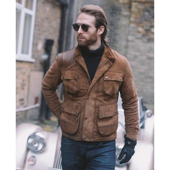 Craig Mcginlay Brown Jacket