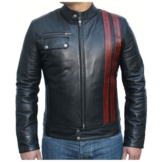 Death Race Frankenstein Motorcycle Leather Jacket