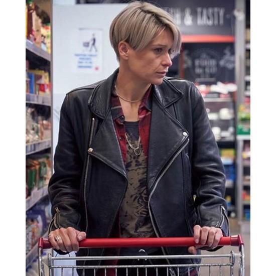 Body of Water Sian Brooke Black Leather Jacket