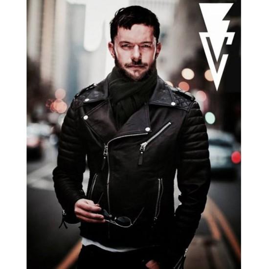 Biker Style Finn Balor Leather Jacket