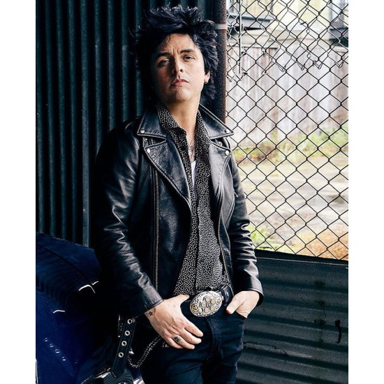 Billie Joe Armstrong Green Day Motorcycle Leather Jacket