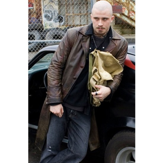 Death Sentence Billy Darley Leather Coat