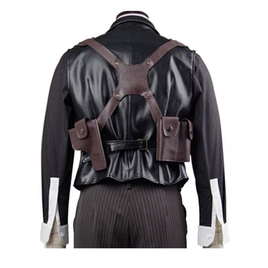 Booker Dewitt Bioshock Infinite Black Leather Vest