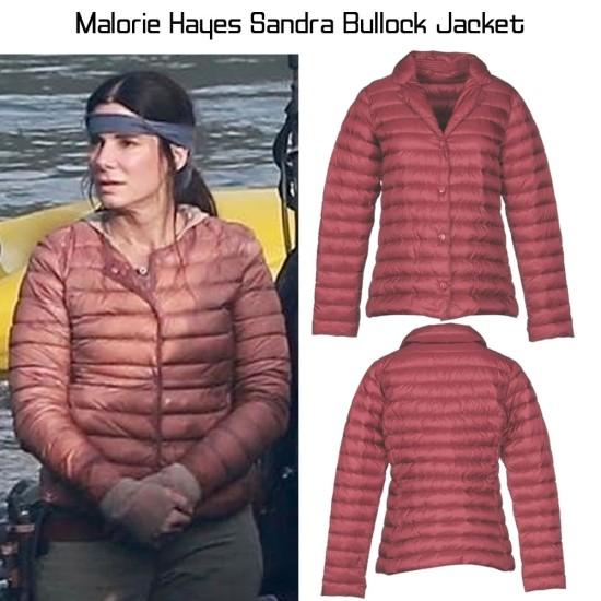 Bird Box Sandra Bullock Puffer Jacket