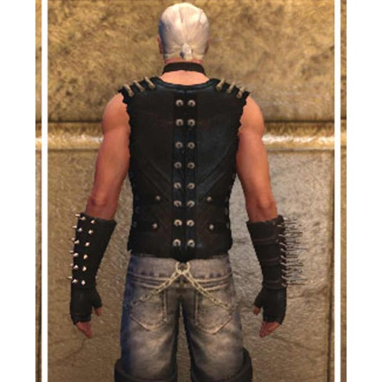Black Metal Sephora's Closet II Vest