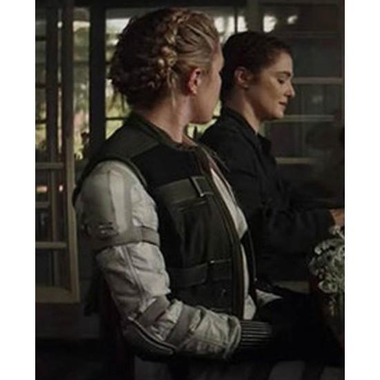 Black Widow Florence Pugh Black Vest