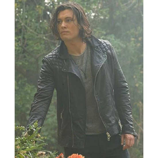 Blair Redford The Gifted Black Leather Jacket