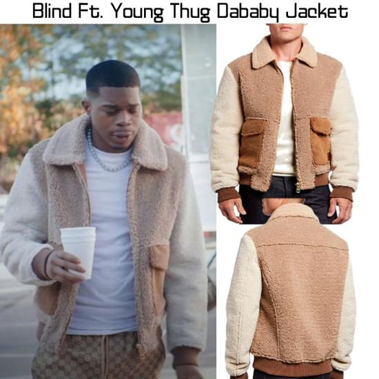 Blind Ft. Dababy Fur Jacket