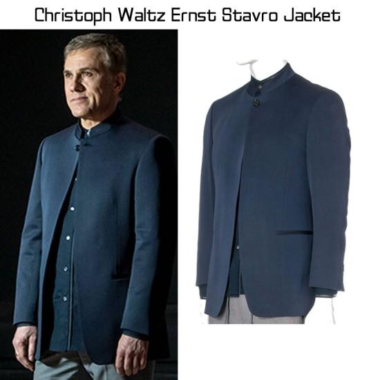 Christoph Waltz Spectre Ernst Stavro Blofeld Jacket