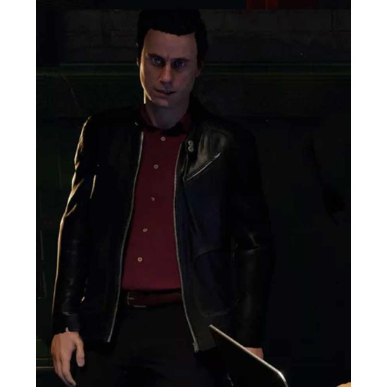 Blood & Truth Game Ryan Marks Leather Jacket