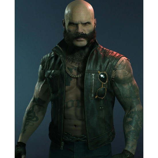 Bloodlines 2 Brujah Leather Vest