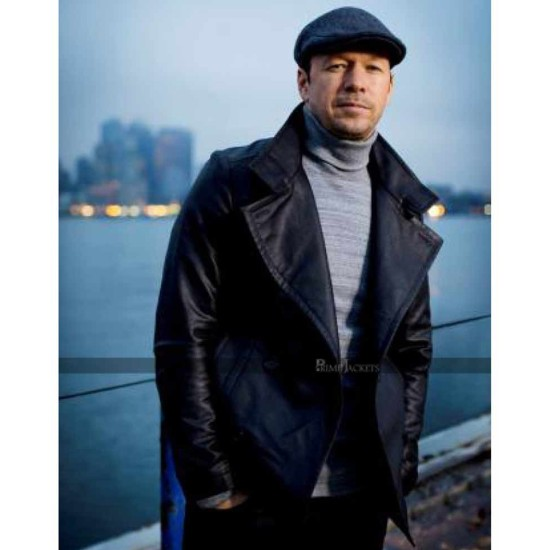 Donnie Wahlberg Blue Bloods Leather Jacket