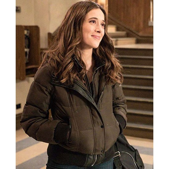 Chicago PD Season 07 Tracy Spiridakos Puffer Jacket