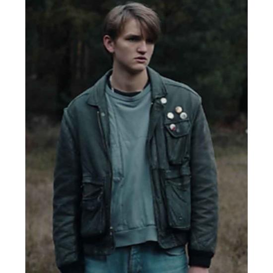 Dark Ulrich Nielsen Black Leather Jacket