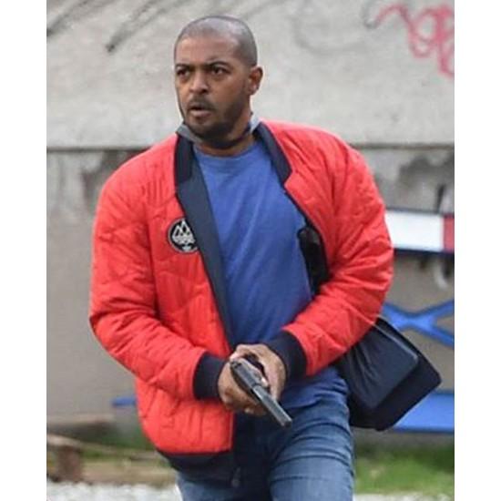 Bulletproof Noel Clarke Red Bomber Jacket