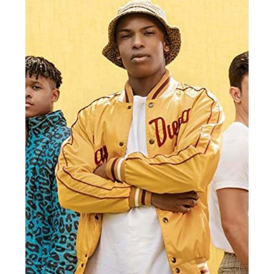 Blood & Water Thabang Molaba Yellow Varsity Jacket