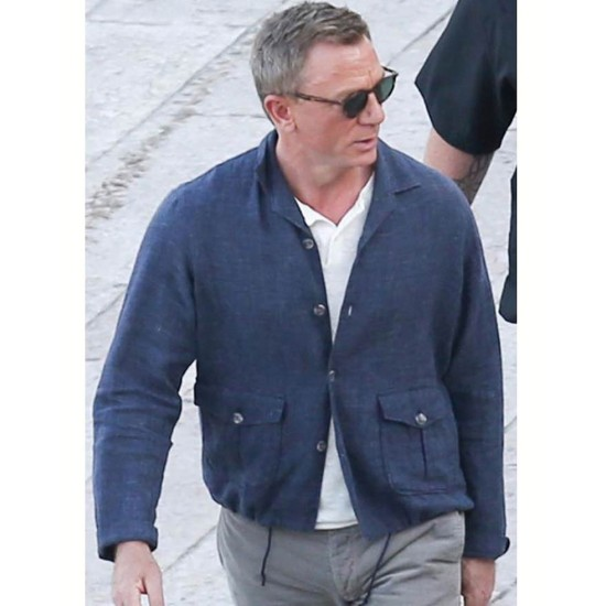 Bond 25 Daniel Craig Jacket