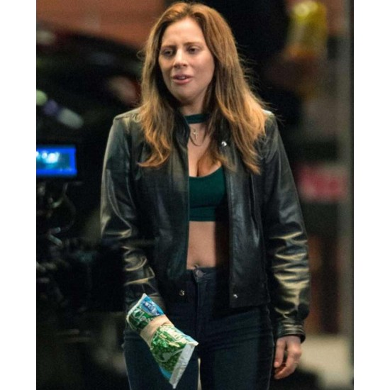 A Star is Born Sally Cummings Leather Jacket