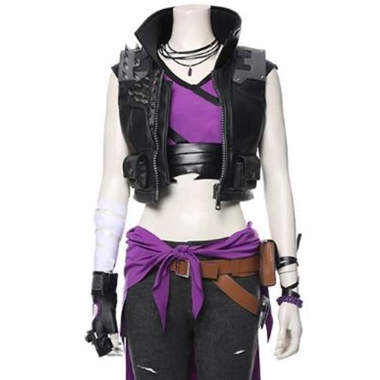 Amara Borderlands 3 Black Leather Vest