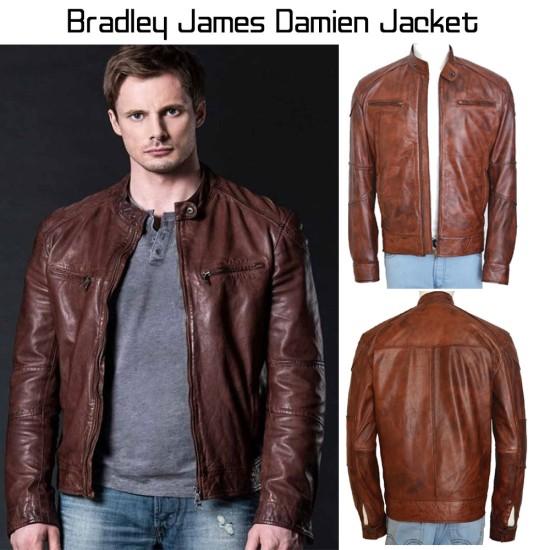 Bradley James Damien Leather Jacket