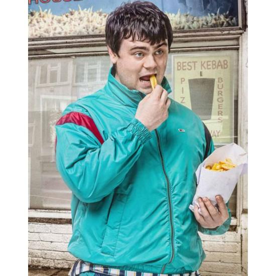 Brassic Tom Hanson Turquoise Jacket