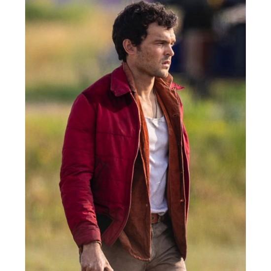 Brave New World Alden Ehrenreich Red Jacket