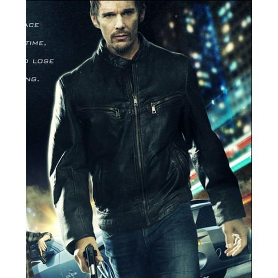 Ethan Hawke Getaway Brent Magna Leather Jacket