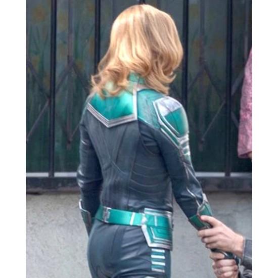 Brie Larson Carol Danvers Jacket