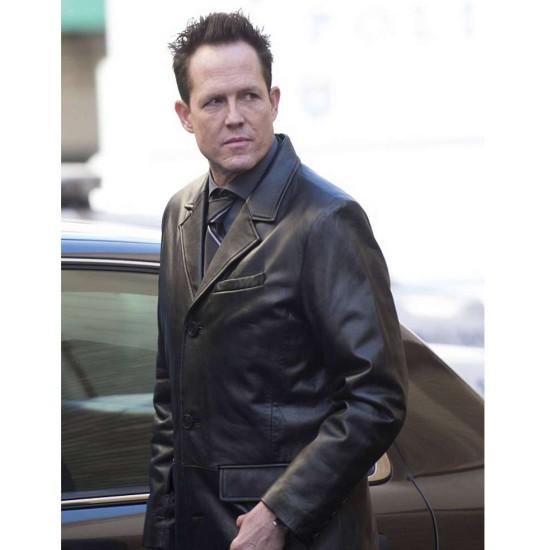 Dean Winters Brooklyn Nine Nine Leather Coat
