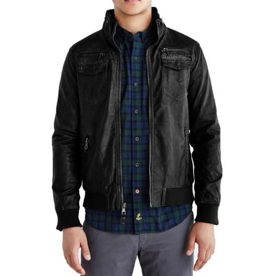 Brooklyn Nine Nine TV Series Jake Peralta Leather Jacket
