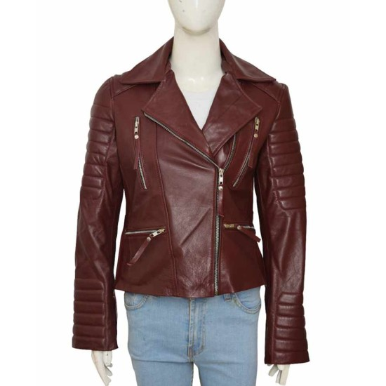 Brooklyn Nine Nine Stephanie Beatriz Maroon Jacket