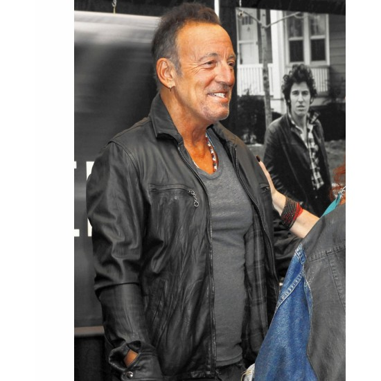Barnes and Noble Bruce Springsteen Leather Jacket