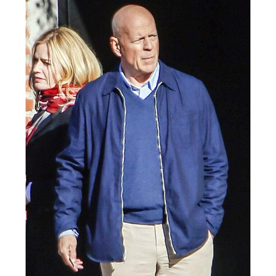 Death Wish Bruce Willis Blue Jacket