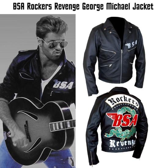 George Michael BSA Rockers Revenge Leather Jacket