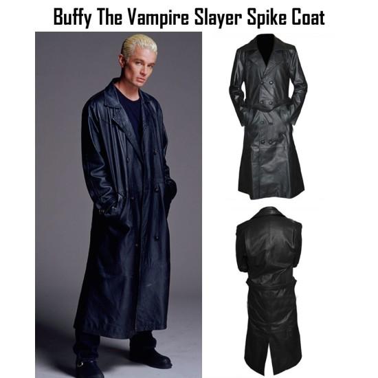 Buffy The Vampire Slayer TV Series Spike Trench Coat