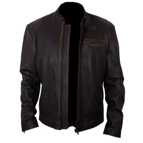 Burlesque Film Cam Gigandet Leather Jacket