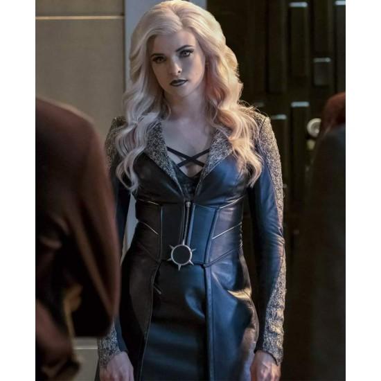 Caitlin Snow The Flash Season 3 Killer Frost Leather Coat