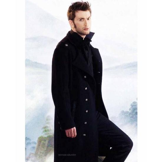 David Tennant Bad Samaritan Trench Coat