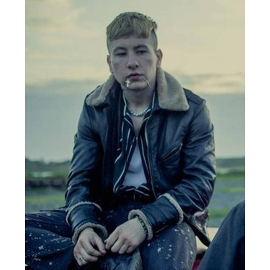 Calm with Horses Barry Keoghan Black Leather Jacket