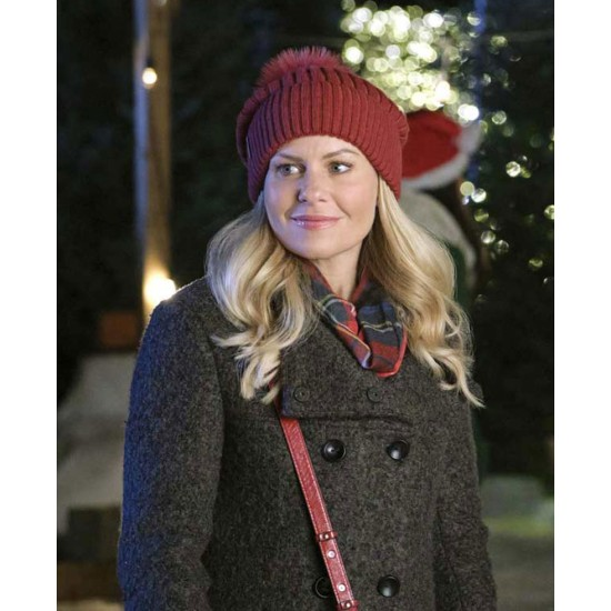 If I Only Had Christmas Candace Cameron Bure Double Breasted Coat