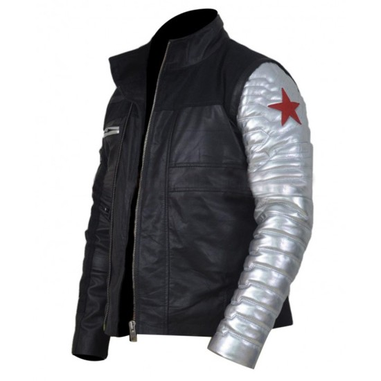 Captain America Civil War Film Winter Soldier Jacket