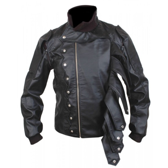 Captain America The Winter Soldier Bucky Barnes Leather Jacket