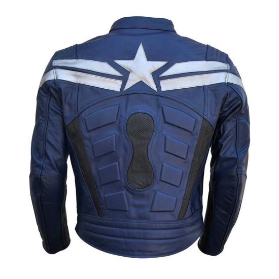 Chris Evans Captain America Winter Soldier Jacket