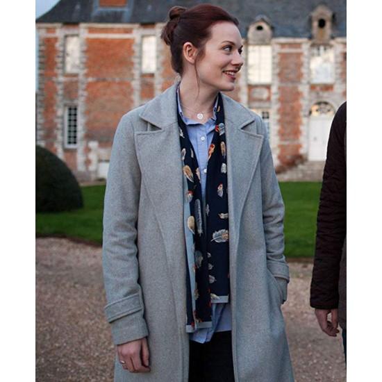 Cara Theobold Around The Sun Wool Coat