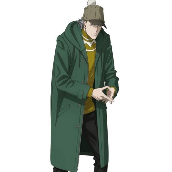 Case File N 221 Kabukicho Sherlock Holmes Green Hooded Coat