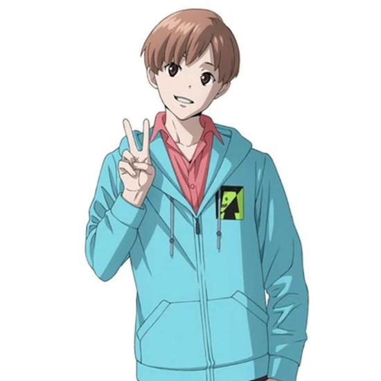 Case File N221 Kabukicho S01 James Moriarty Blue Hoodie