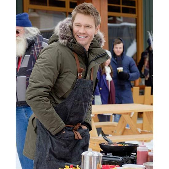 Chad Michael Murray Love In Winterland Green Coat